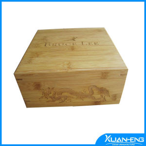 Wholesale Natural Bamboo Box with Lid pictures & photos