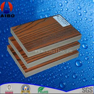 3mm Waterproof Laminated WPC Board for Decoration Wall pictures & photos