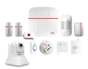 Smart GSM WiFi Alarm System with Camera Optional (ES-VCARE-B) pictures & photos