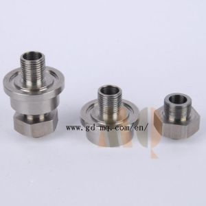 Stainless Steel Thread Turning Services (MQ1041) pictures & photos