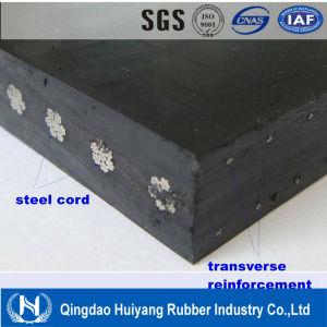 Steel Cord Reinforced Rubber Covneyor Belt pictures & photos