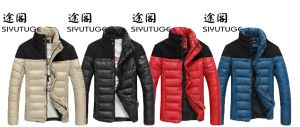 Windproof New Mens Fashion Padding Winter Down Cotton Jacket pictures & photos