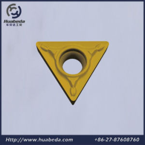 Coated Tungsten Carbide Cutting Insert, Cemented Carbide Turnining Inserts, Tcmt pictures & photos