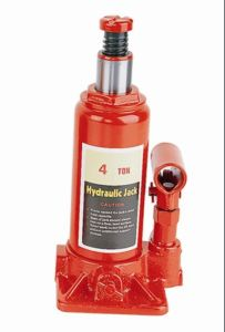 4t Hydraulic Bottle Jack with Handle
