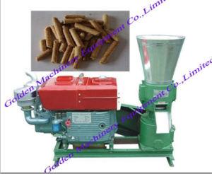 Electric Diesel Power Flat Die Feed Wood Pellet Making Machine pictures & photos