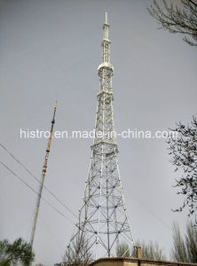 Galvanized TV&Broadcast Tower with Angular Steel&Tubular Steel pictures & photos