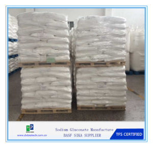 Sodium Gluconate 99% as Concrete Superplasticizer