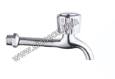 Long Zinc Bibcock Water Tap with Zinc Handle pictures & photos