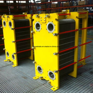 Marine Oil Cooler Heat Recovery Counter Flow Gasket Plate Heat Exchanger pictures & photos
