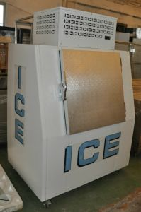 Ice Storage Bin for Cold Store