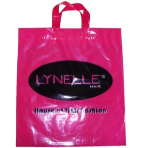 High Quality LDPE Printed Carrier Bags for Hair Products (FLL-8377) pictures & photos