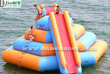 Double Lane Slide Inflatable Water Toy (AW032)