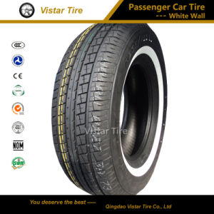 White Wall PCR Tire, Car Tire (P205/75R14, P195/75R14, P205/70R15, P225/75R15, P235/751R5) pictures & photos