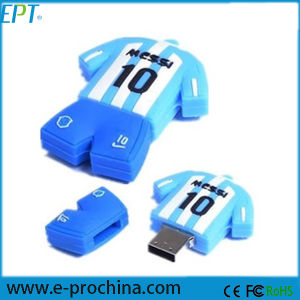 Customized Football Clothes Shape Pendrive USB Flash Drive (GE03-B) pictures & photos