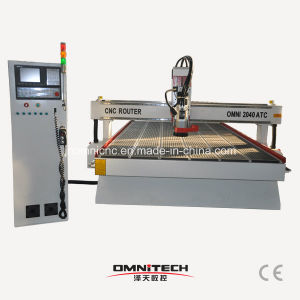 3 Axis Woodworking CNC Router 2040 with Auto Tool Changer pictures & photos