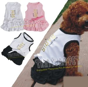 Fancy Dog Dress, Fashion Summer Pet Apparel Dog Clothes (YJ73504) pictures & photos
