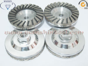Aluminum Base Diamond Cup Wheel Diamond Tool pictures & photos