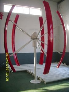 600W Vertical Axis Wind Turbine System pictures & photos