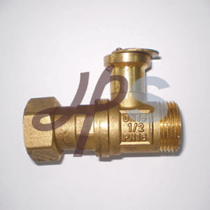 Lockable Brass Ball Valve for PE Pipe pictures & photos