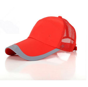 Custom Fashion Red Cotton Sports Golf Mesh Baseball Cap 2016 pictures & photos