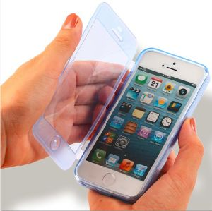 TPU Flip Cover Case for iPhone 5 (KT-11033)