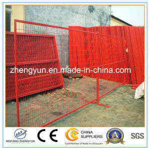 Canada 6FT X 10FT Powder Coated Fence Panels, Welded Wire Mesh Temporary Fence pictures & photos
