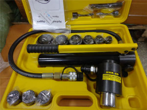 Hydraulic Knockout Hole Maker Punching Tool (HHK-8D) pictures & photos