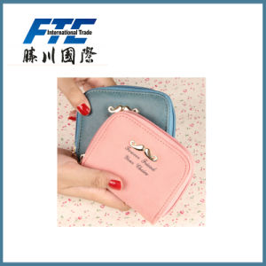 Customized Printing Umulti-Color Mini Leather Women Girls Coin Purse pictures & photos