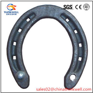 Carbon Steel Aluminium Racing Equestrian Games Horseshoe Products pictures & photos