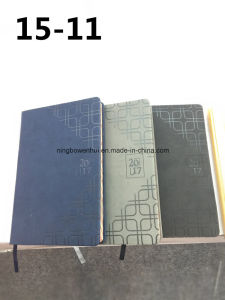 2017 Hardcover All Kind of Language Leather Diary pictures & photos