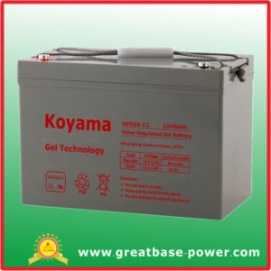 90ah 12V Maintenance Free Gel Standby Battery pictures & photos