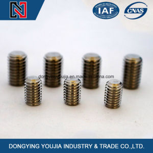 Carbon Steel Class 12.9 Hexagon Socket Set Screws with Flat Point M2-M24 pictures & photos