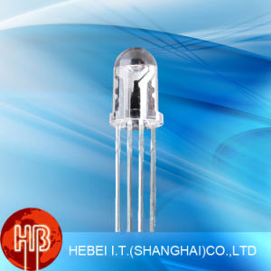 5mm RGB Common Cathode LED Diode with Four Pins