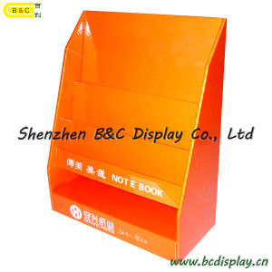 Book Cardboard Display Stand, Counter Display, Table PDQ, Desk Display Shelf, Paper Display Stand (B&C-D030) pictures & photos