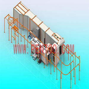 Hot Sell Electrostatic Powder Coating Line for Aluminum Profile pictures & photos