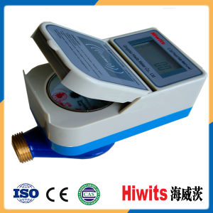 Hot Electronic Brass Wireless Smart IC Card Prepaid Water Meter