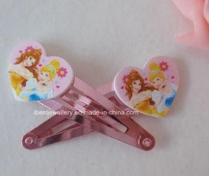 Disney Hair Accessories/Plastic Heart Princess Hair Clip/Hair Pin Set pictures & photos