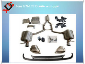 Stainless Steel Auto Vent-Pipe for Benz E260 Body Kit