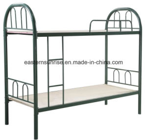 Latest Design Cheap Metal/Steel/Iron Double Bed pictures & photos