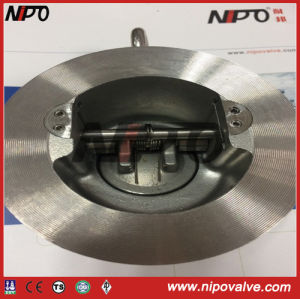 Wafer Retainerless Tilting Disc Swing Check Valve (H77) pictures & photos