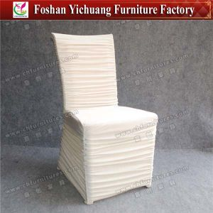 Fashion Drape Design Chair Cover Yc-831-01 pictures & photos