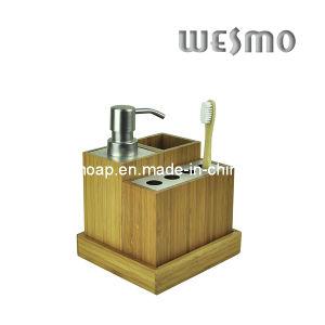 Carbonized Bamboo Bath Ensembles (WBB0471A) pictures & photos