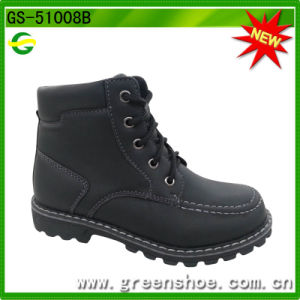 Good Quality Kids Fashion Boots Factory pictures & photos