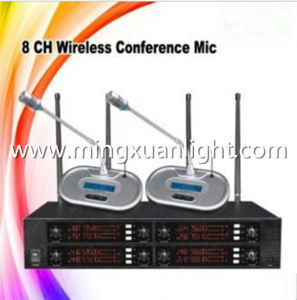 GS8008 8channels UHF Wireless Conference Room Microphone pictures & photos