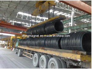 Wire Coil Material Handling Lifting Magnet pictures & photos