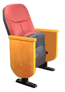 Audience Seat/Chair, Auditorium Seat, Conference Hall Chairs Push Back Auditorium Chair Plastic Auditorium Seat Auditorium Seating (R-6124) pictures & photos