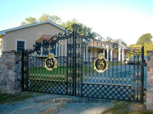 Luxuriant Design Wrought Iron Gates for Sale pictures & photos