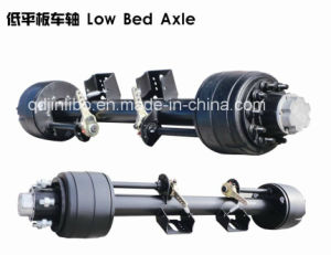 Semi Trailer Parts Low Bed Axle pictures & photos