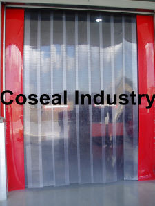 Refrigeration PVC Door Curtains for Cold Room