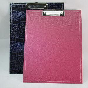 A4 Special PVC File Clip Board / File Holder Clip Board pictures & photos